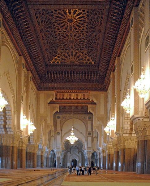 Casablanca grande mosqu e hassan ii int rieur 21 galerie for Mosquee hassan 2 interieur