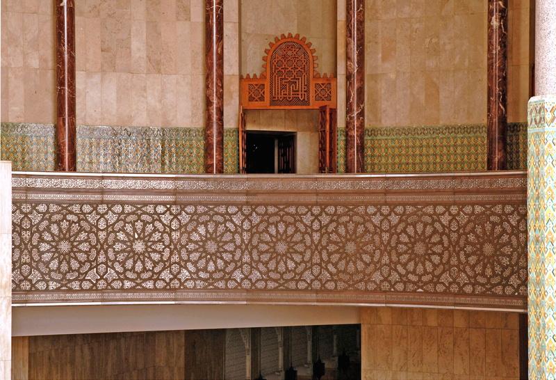 Casablanca grande mosqu e hassan ii int rieur 9 galerie for Mosquee hassan 2 interieur